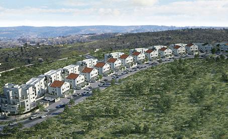 מגניב ביותר שכונת סנסן בצור הדסה - ריכוז פרויקטים ודירות למכירה EN-62