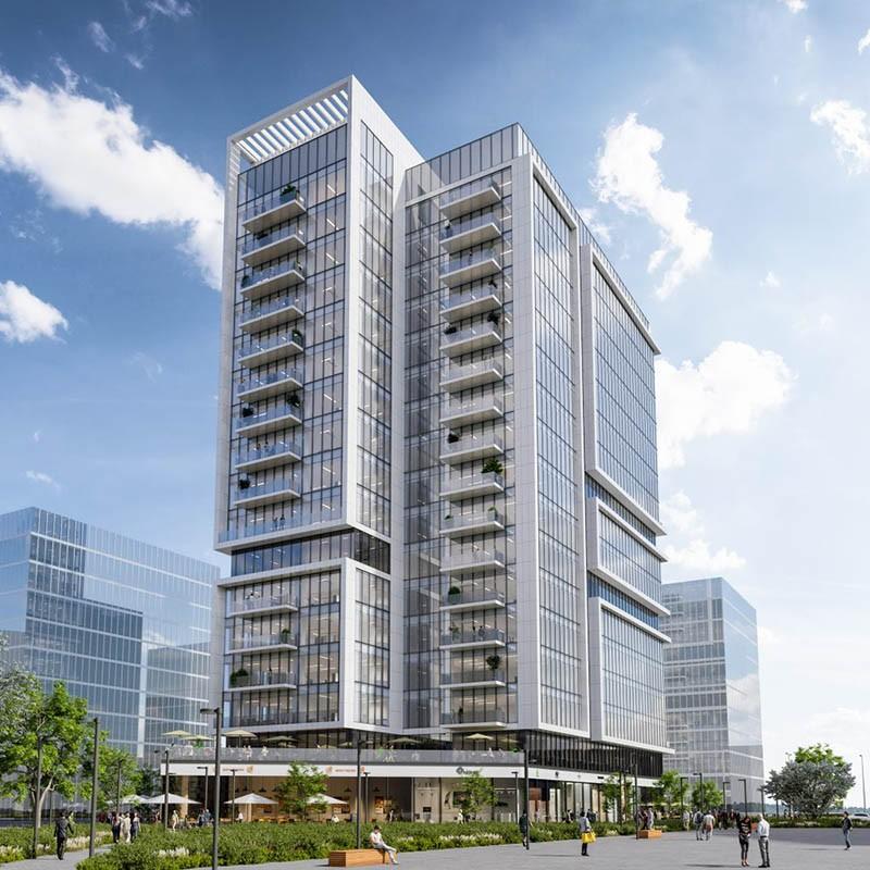 מגדל משרדים פארק הורוביץ רחובות גדות בראל