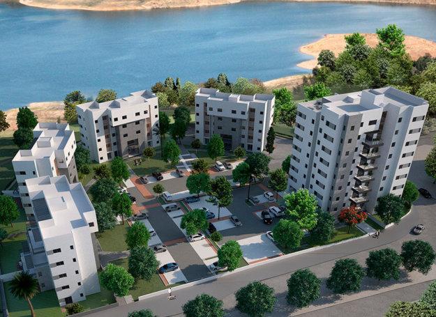 פרויקט אמלוני על האגם בעיר אשקלון