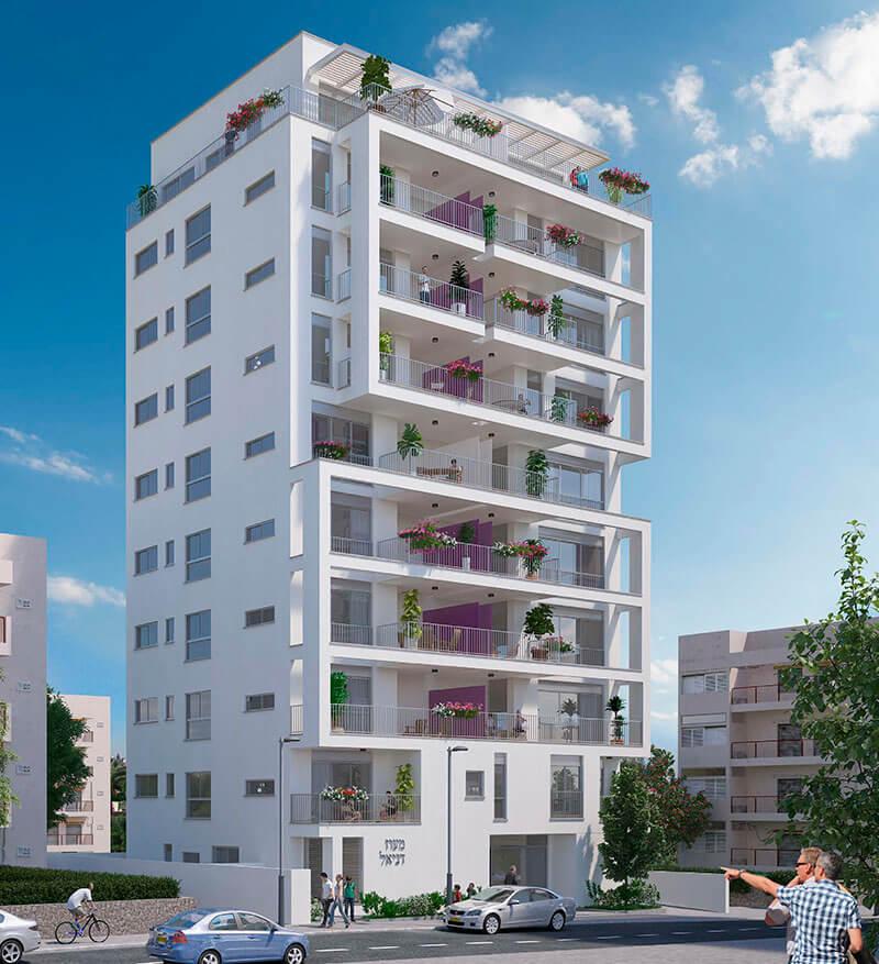 מיוחדים פרויקט VIA4 רמת גן - דירות חדשות ברחוב דבורה הנביאה 4 ברמת גן ZU-52
