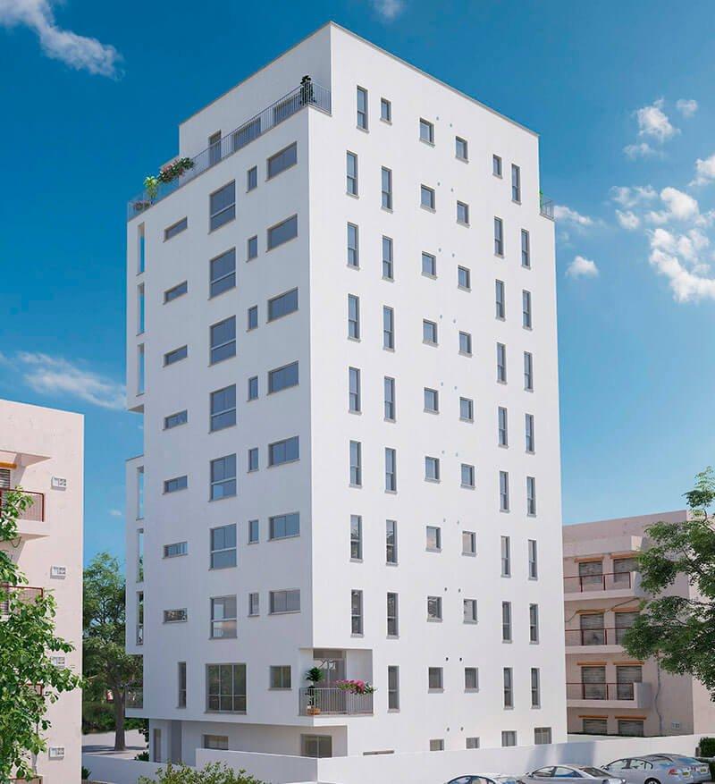 מגה וברק פרויקט VIA4 רמת גן - דירות חדשות ברחוב דבורה הנביאה 4 ברמת גן IJ-88