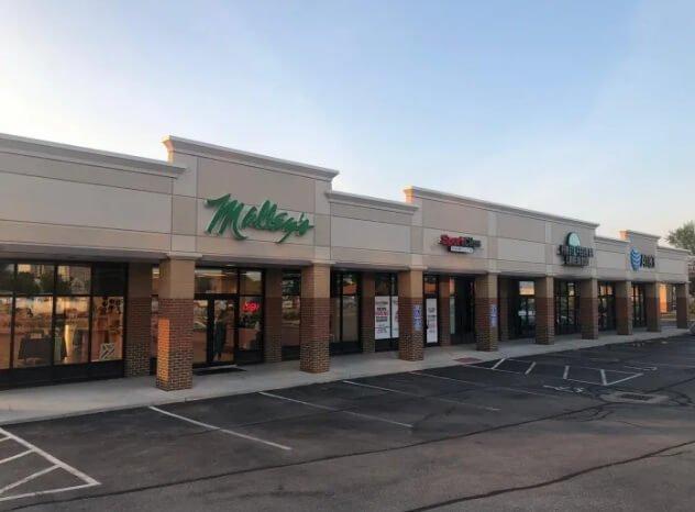 מתחם מסחרי במטרופולין של קליבלנד אוהיו