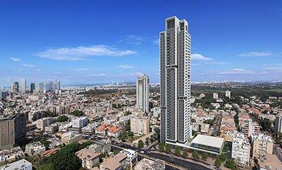 פסגת דן רמת גן מגדל יוקרה