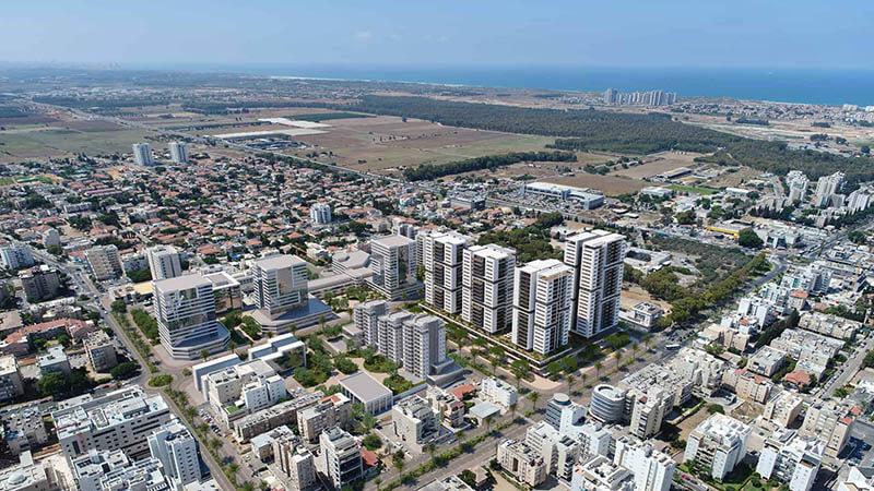 אאורה סיטי חדרה של חברת אאורה ישראל
