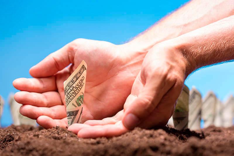 השקעה בקרקעות