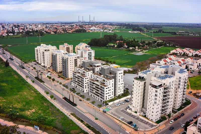 נחל פרת חדרה אאורה ישראל בשכונת בית אליעזר בחדרה