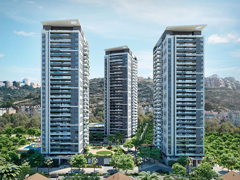 פרויקט אלמוג כרמל מערב חיפה